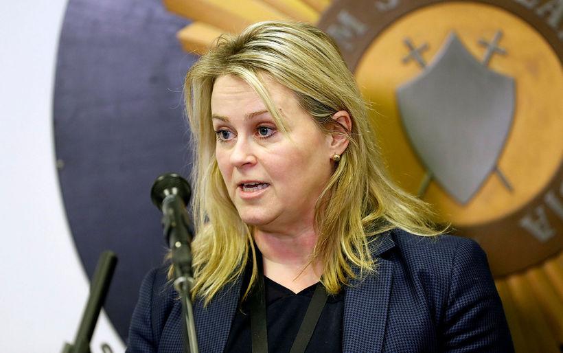 Sigríður Björk Guðjónsson, lögreglustjóri á höfuðborgarsvæðinu.