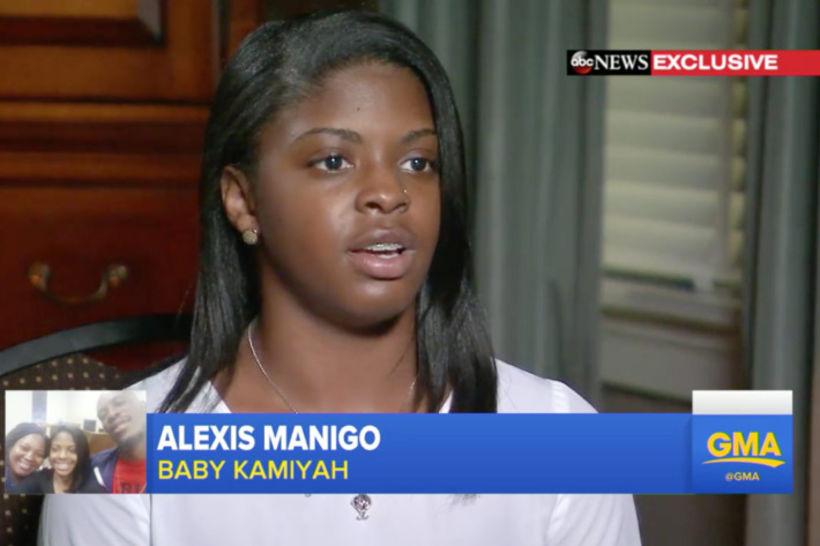 Alexis Manigo hefur hitt blóðforeldra sína en segist alltaf munu ...