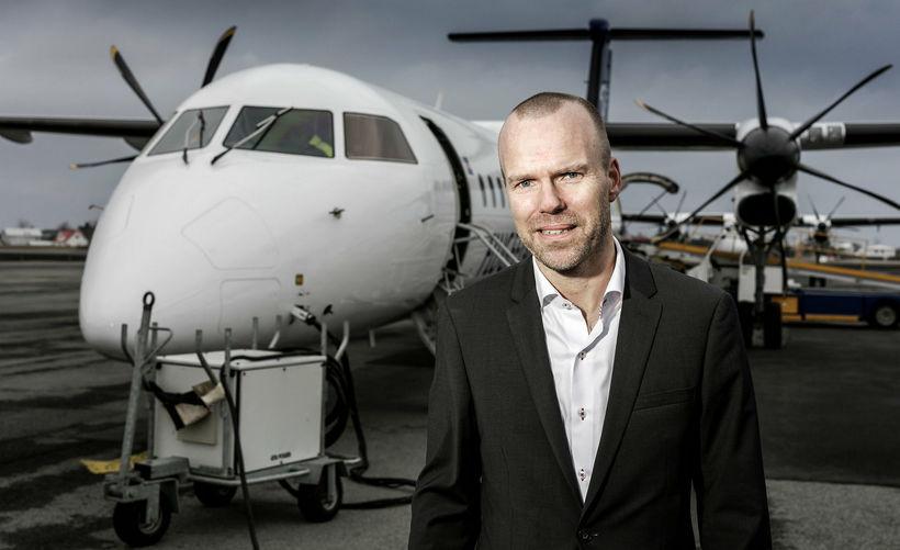 Árni Gunnarsson framkvæmdastjóri Air Iceland Connect.