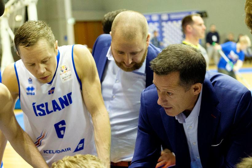 Jakob Örn Sigurðarson, Arnar Guðjónsson og Craig Pedersen