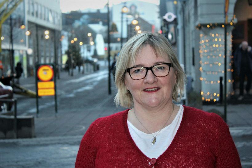 Halla Signý Kristjánsdóttir, þingmaður Framsóknarflokksins.