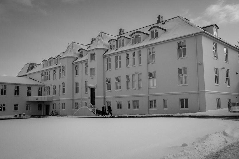 Húsnæði geðsviðs Landspítalans við Klepp.