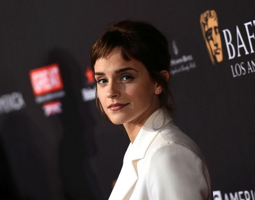 Leikkonan Emma Watson tók þátt í stofna Réttlætis-og jafnréttissjóð Bretlands ...