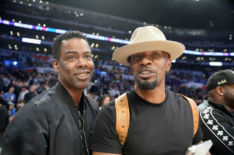 Chris Rock og Jamie Foxx.