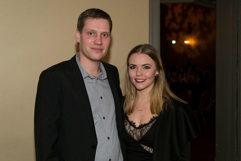 Viktor Leifur Ævarsson og Anna Margrét Kristinsdóttir.