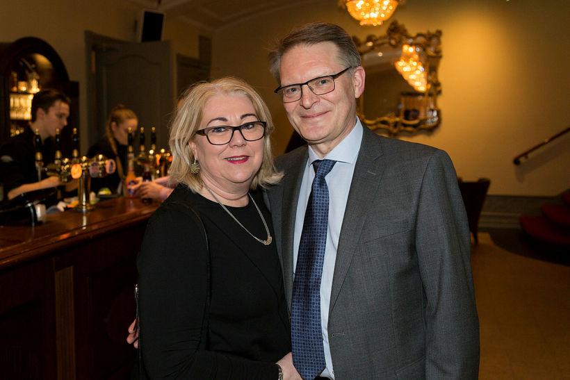 Lovísa Sigurðardóttir og Guðmundur Hermannsson.
