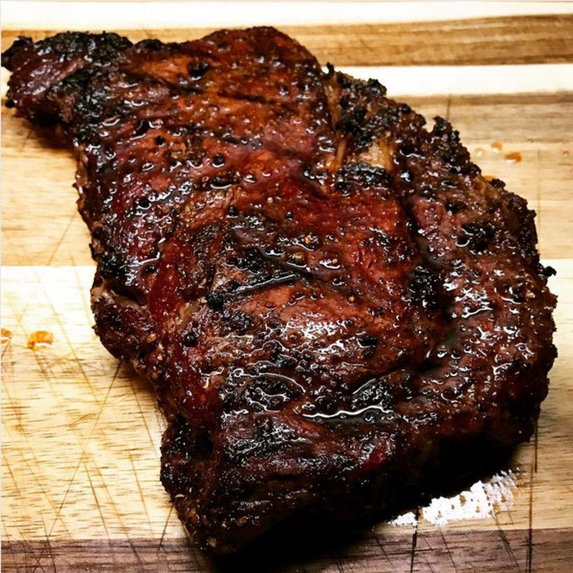 Það er fátt meira viðeigandi en góð steik á bóndadaginn.