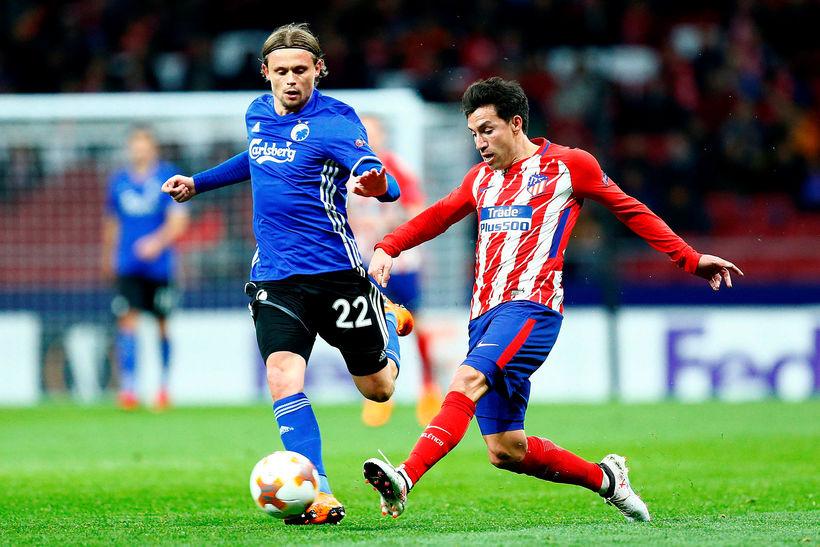 Atlético Madrid er komið í 8 liða úrslit.