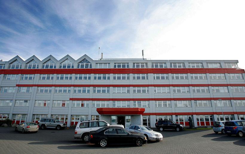 Íslandsbankahúsið við Kirkjusand.