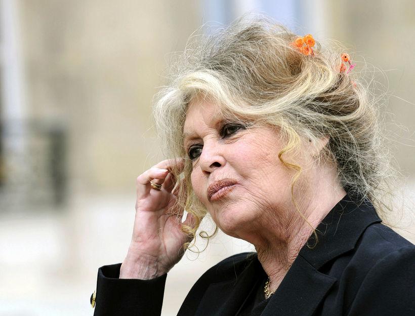 Brigitte Bardot liggur ekki á skoðunum sínum.