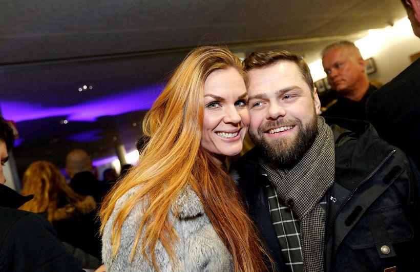 Erla Sigurlaug Sigurðardóttir og Hafþór Már Benjamínsson.