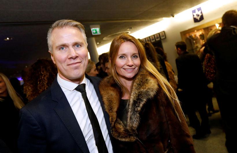 Birgir Örn Birgisson og Hrönn Róbertsdóttir.