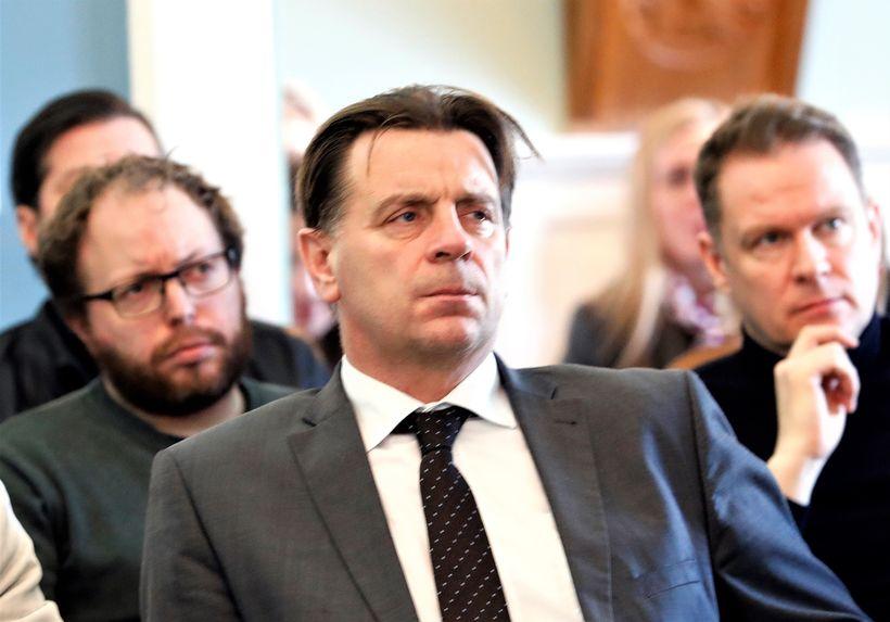Karl Gauti Hjaltason, þingmaður Flokks fólksins.