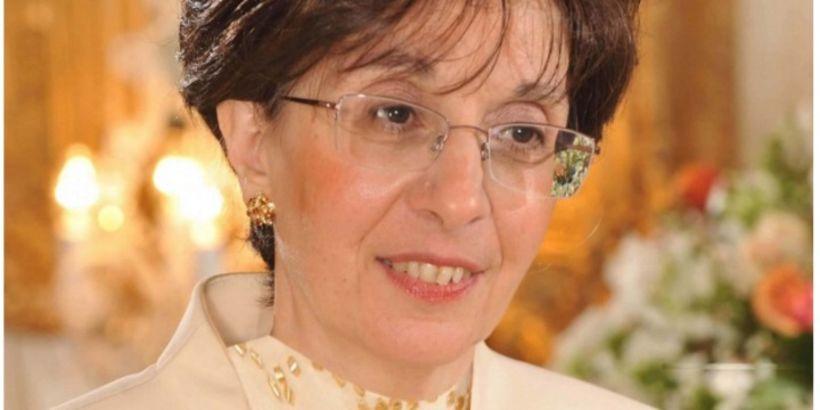 Sarah Halimi, mynd sem fjölskylda hennar lét fjölmiðla fá.
