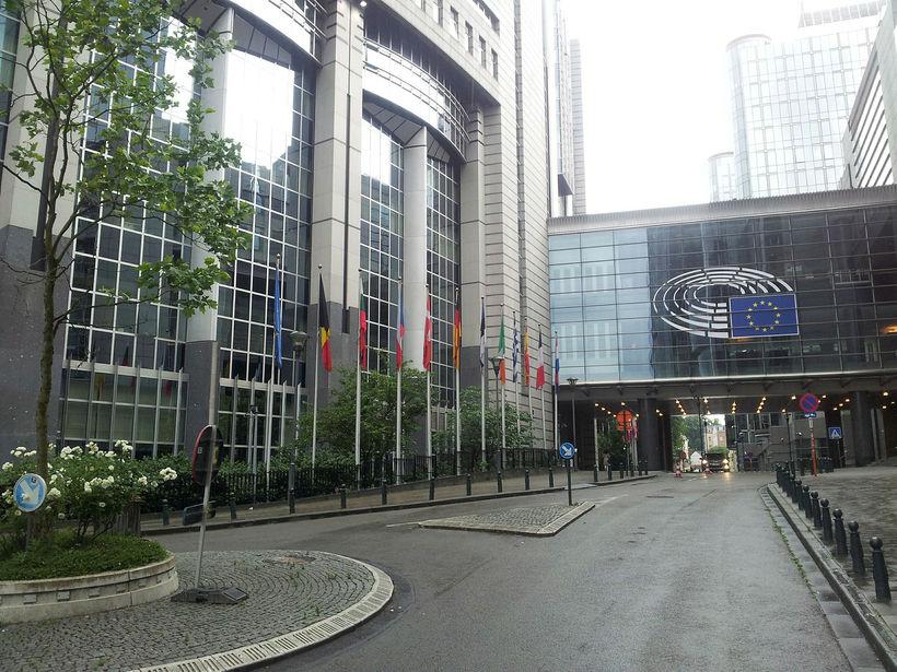 Evrópuþingið í Brussel.
