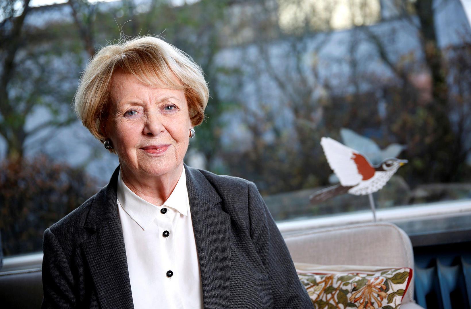 Vigdís Finnbogadóttir.