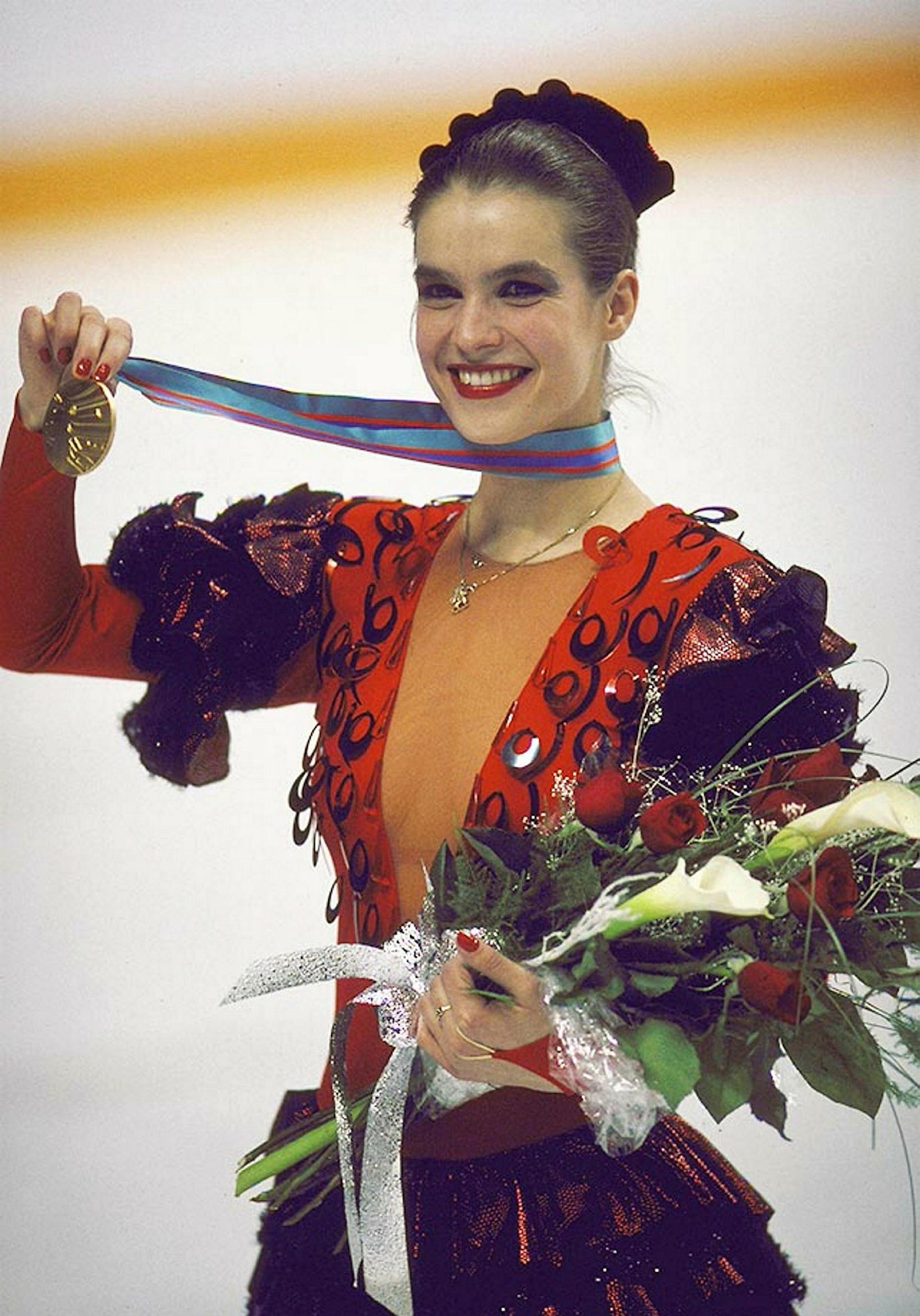 Katarina Witt í Calgary1988.