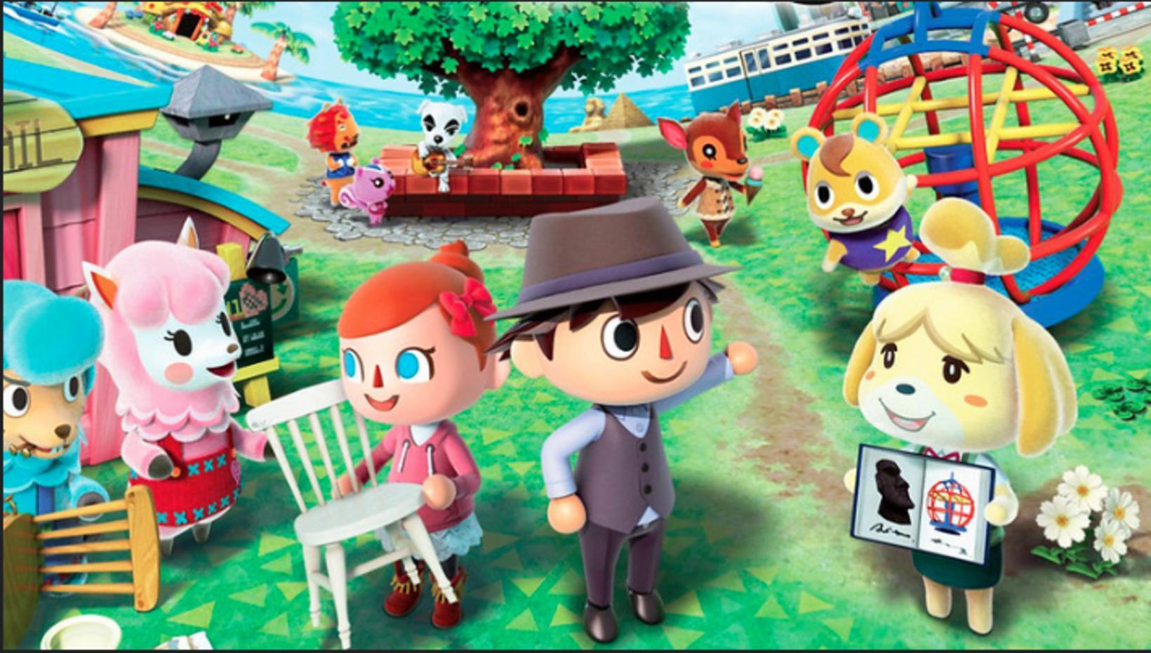 Í tölvuleiknum Animal Crossing geta spilarar brallað ýmsilegt saman og …