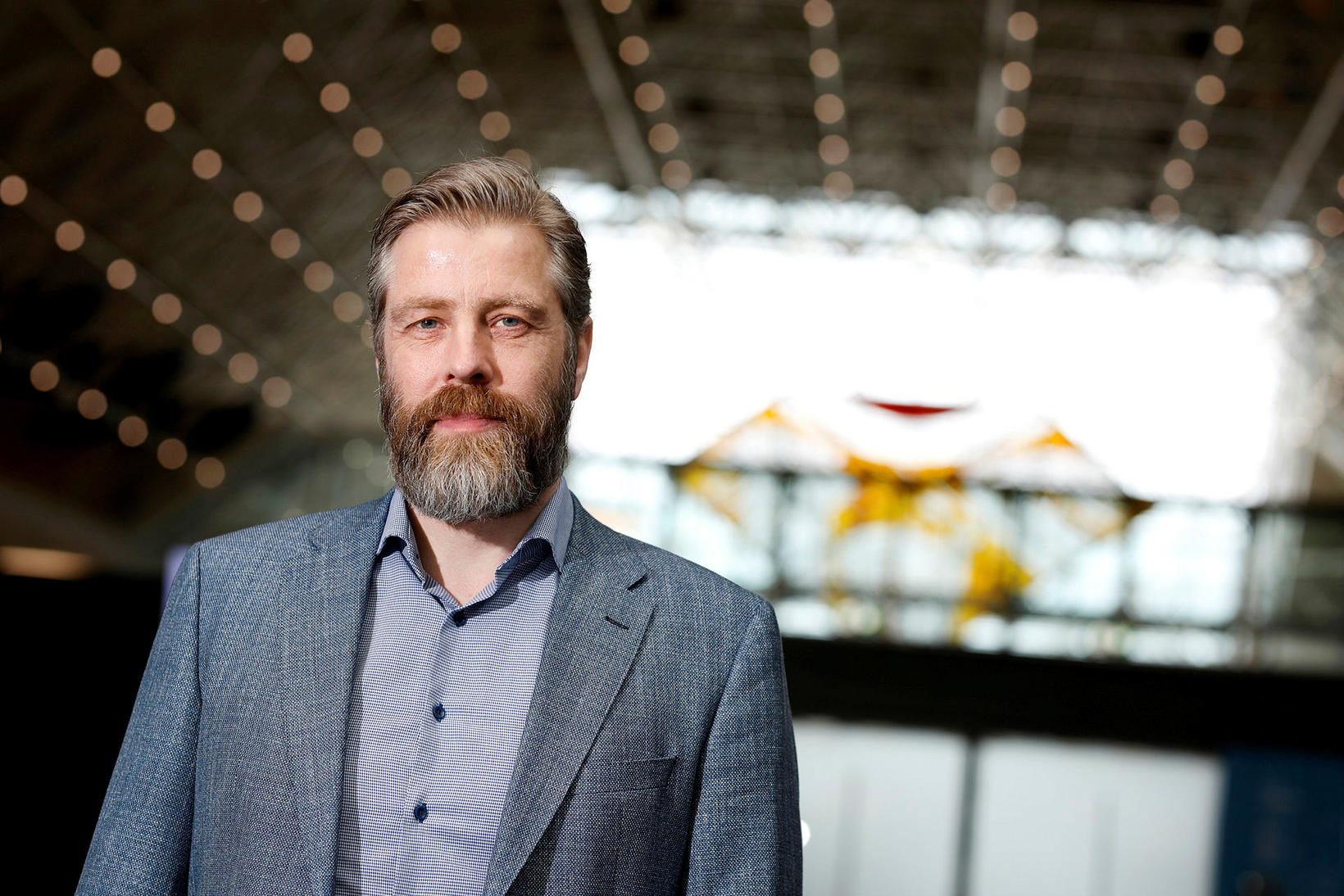 Sveinbjörn Indriðason, CEO of Isavia.