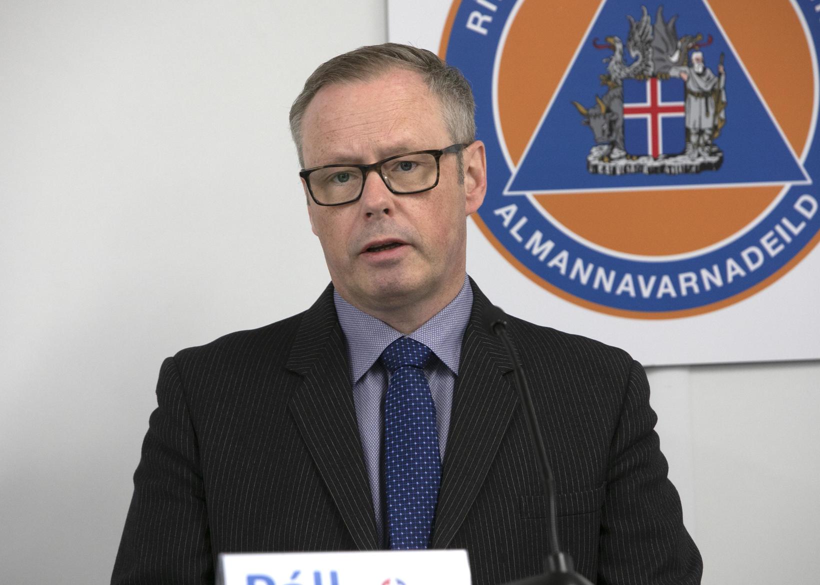 Páll Matthíasson, CEO of Landspítali.
