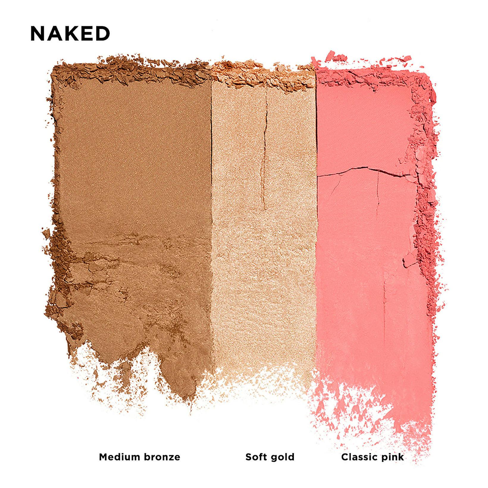 Stay Naked Threesome pallettan frá Urban Decay skartar þremur litum. …