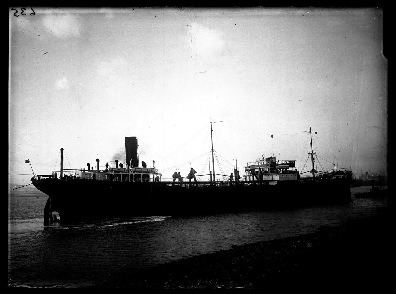 El Grillo, before it was shot down in 1944.