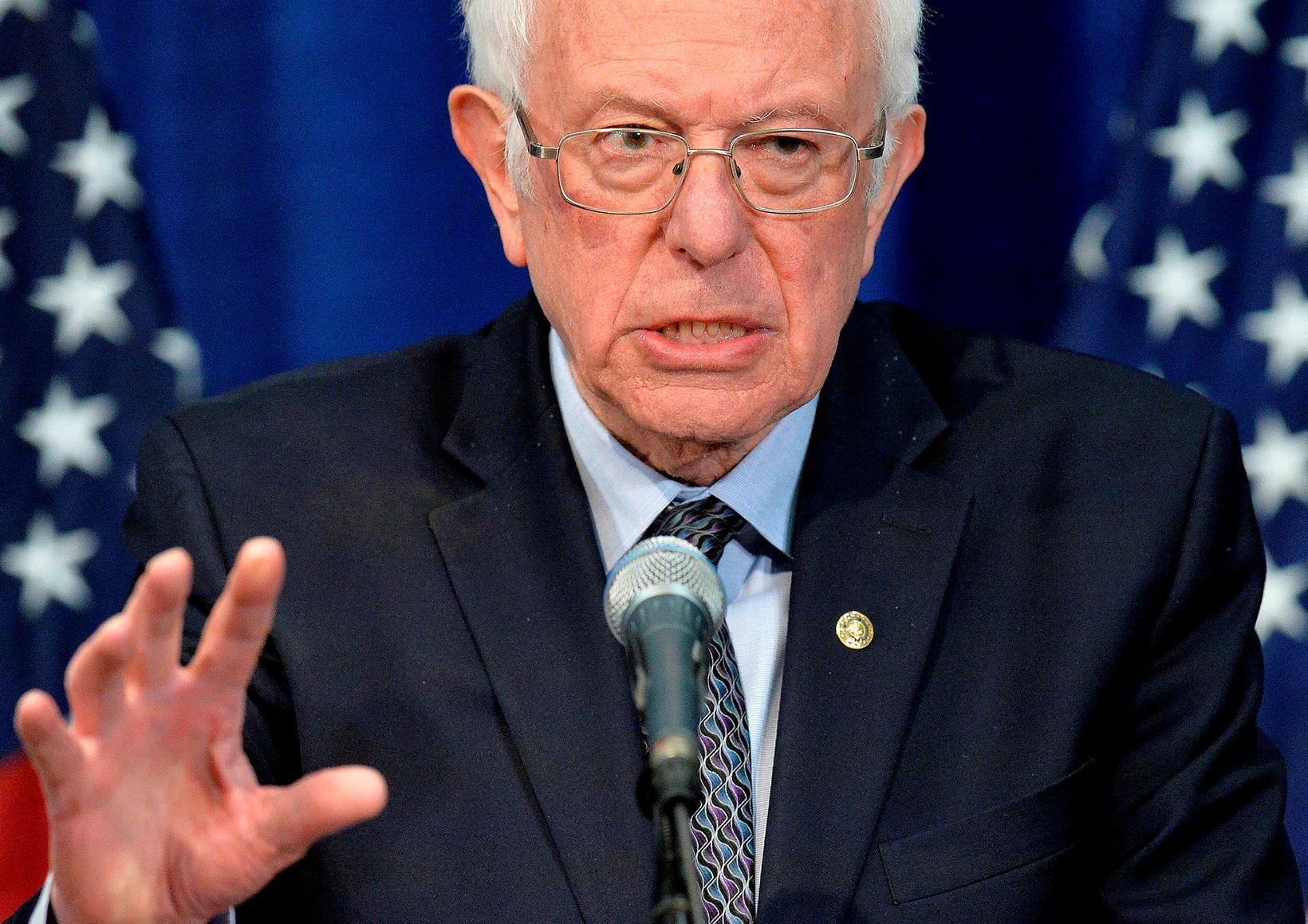 Bernie Sanders hefur dregið sig í hlé.