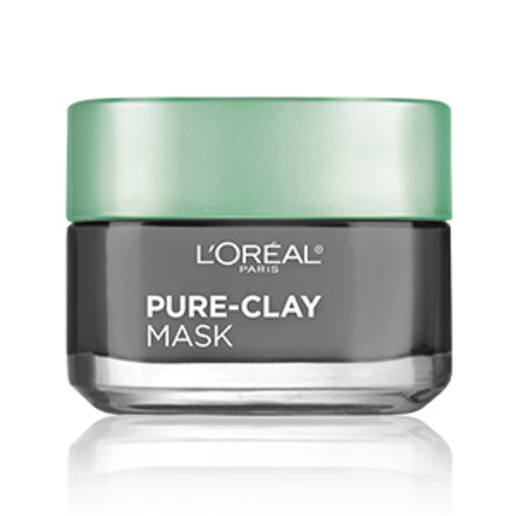 Maskinn Pure-Clay frá L'Oréal kemur að góðum notum.