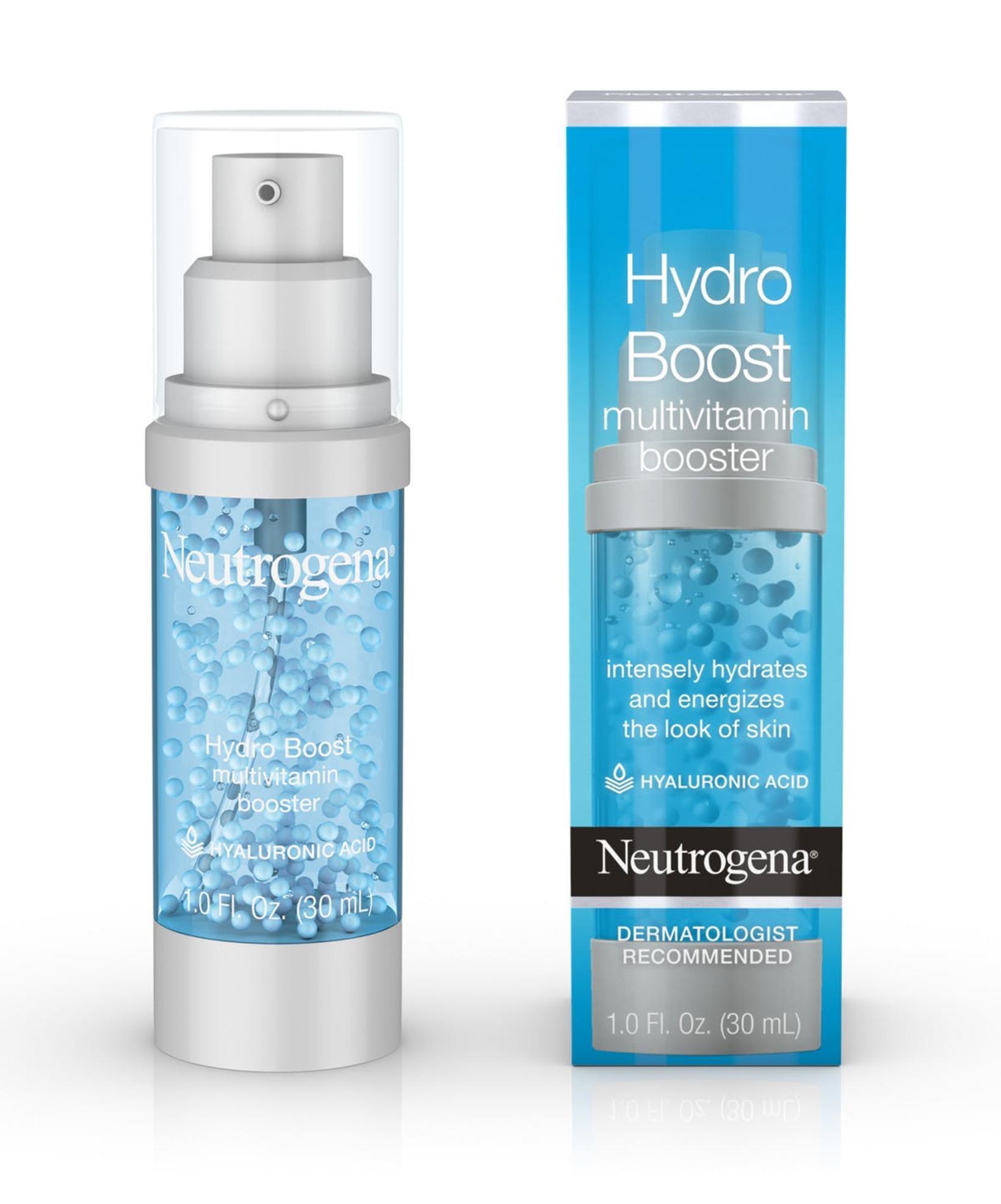 Rakel notar Hydro Boost-línuna frá Neutrogena.