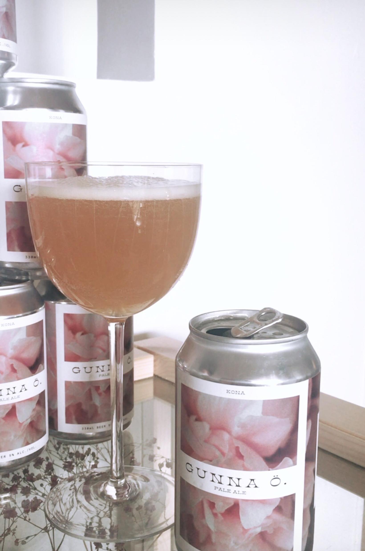 Gunna Ö. er Pale Ale kryddaður með Pink Boot Society …