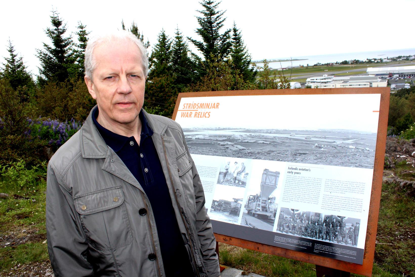 Author Friðþór Eydal.