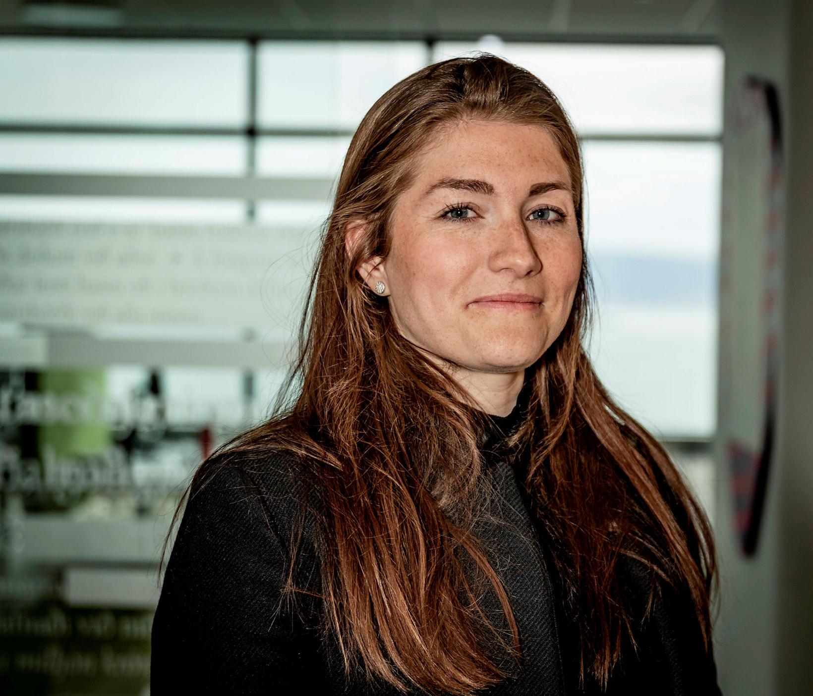 Guðlaug Líey Jóhannsdóttir, formaður flugfreyjufélagsins.