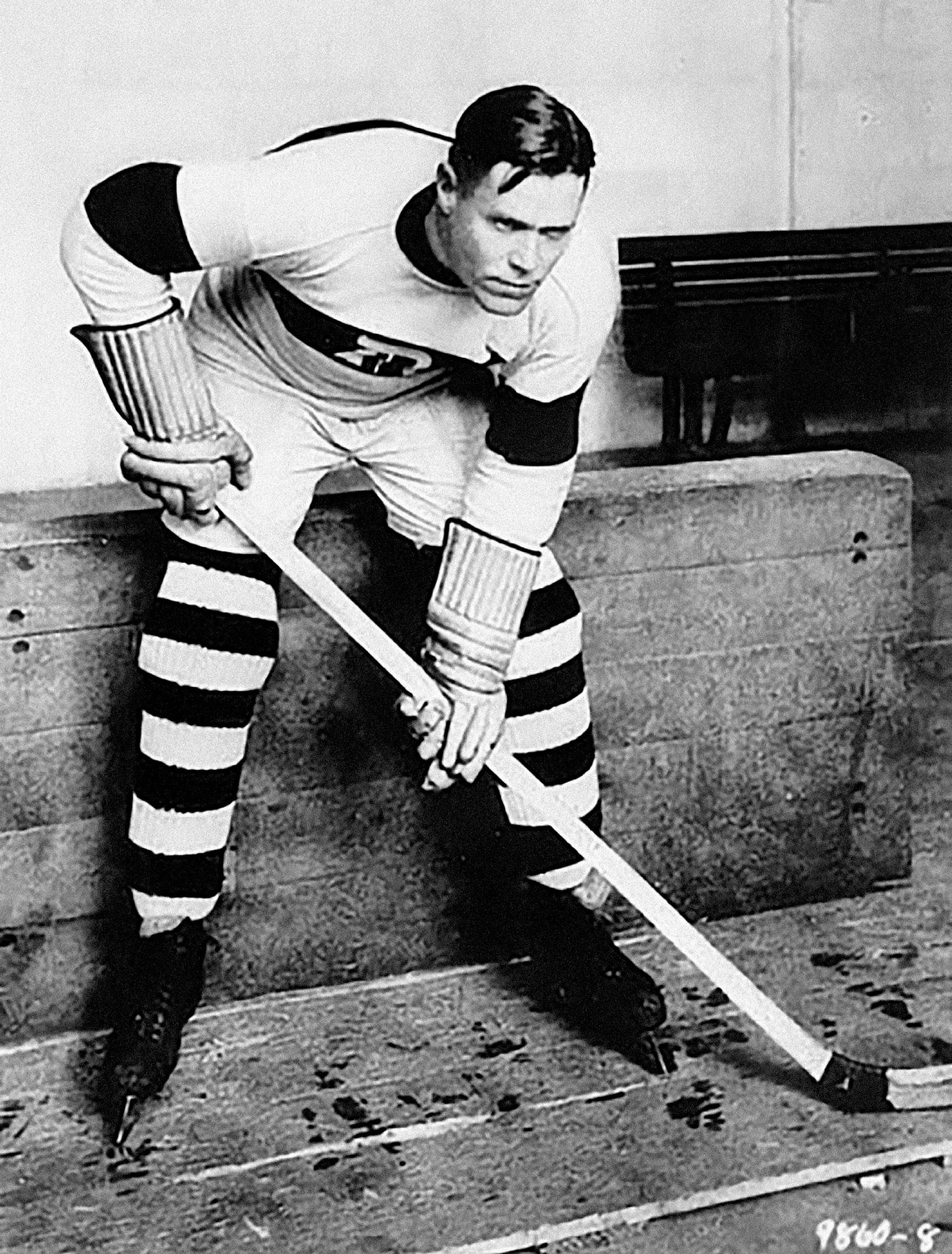 Frank Frederickson, captain of the Winnipeg Falcons.