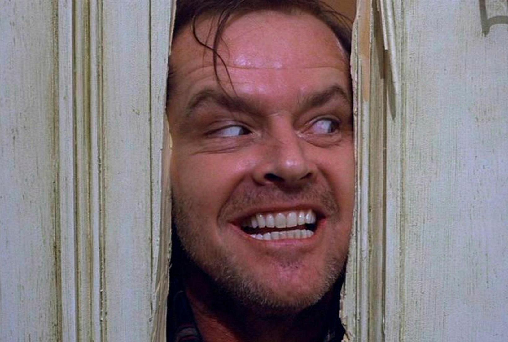 Jack Nicholson í hlutverki Jack Torrance í The Shining.