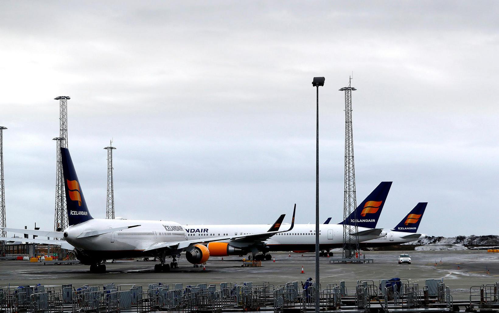 Icelandair flýgur nú meira en félagið gerði í miðjum faraldri.