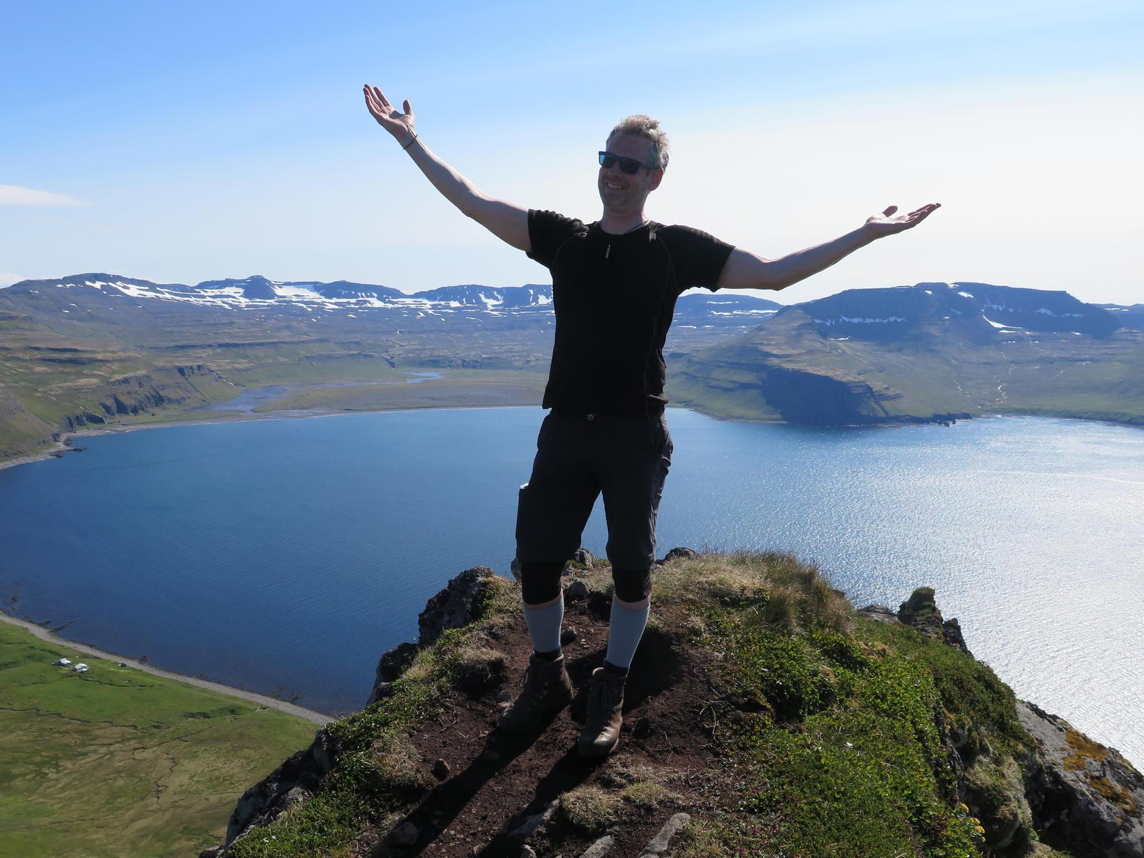 Einar í Hornvík á Hornströndum.