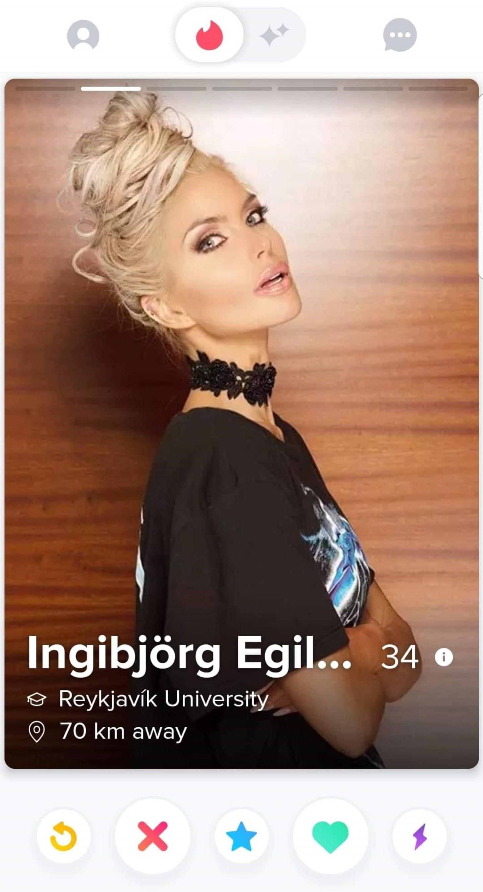 Ingibjörg Egilsdóttir.