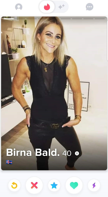 Birna Baldursdóttir.