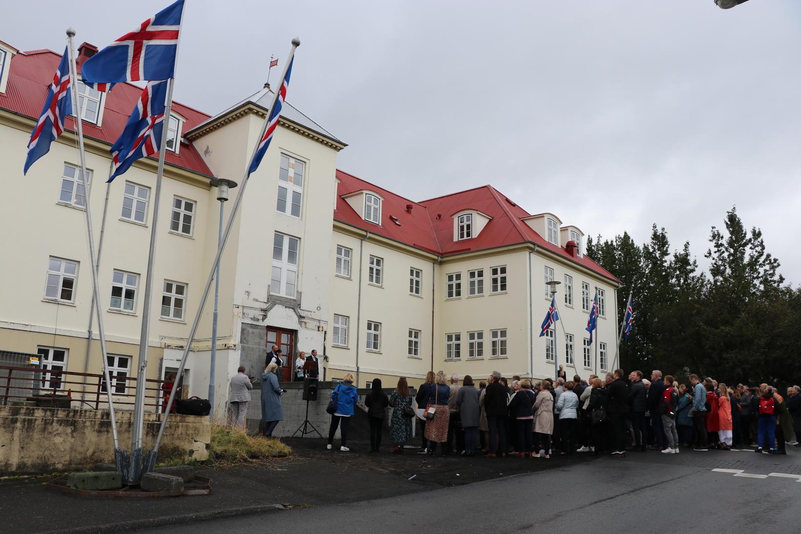 Lífsgæðasetur St. Jó var opnað 5. september 2019 og eru …