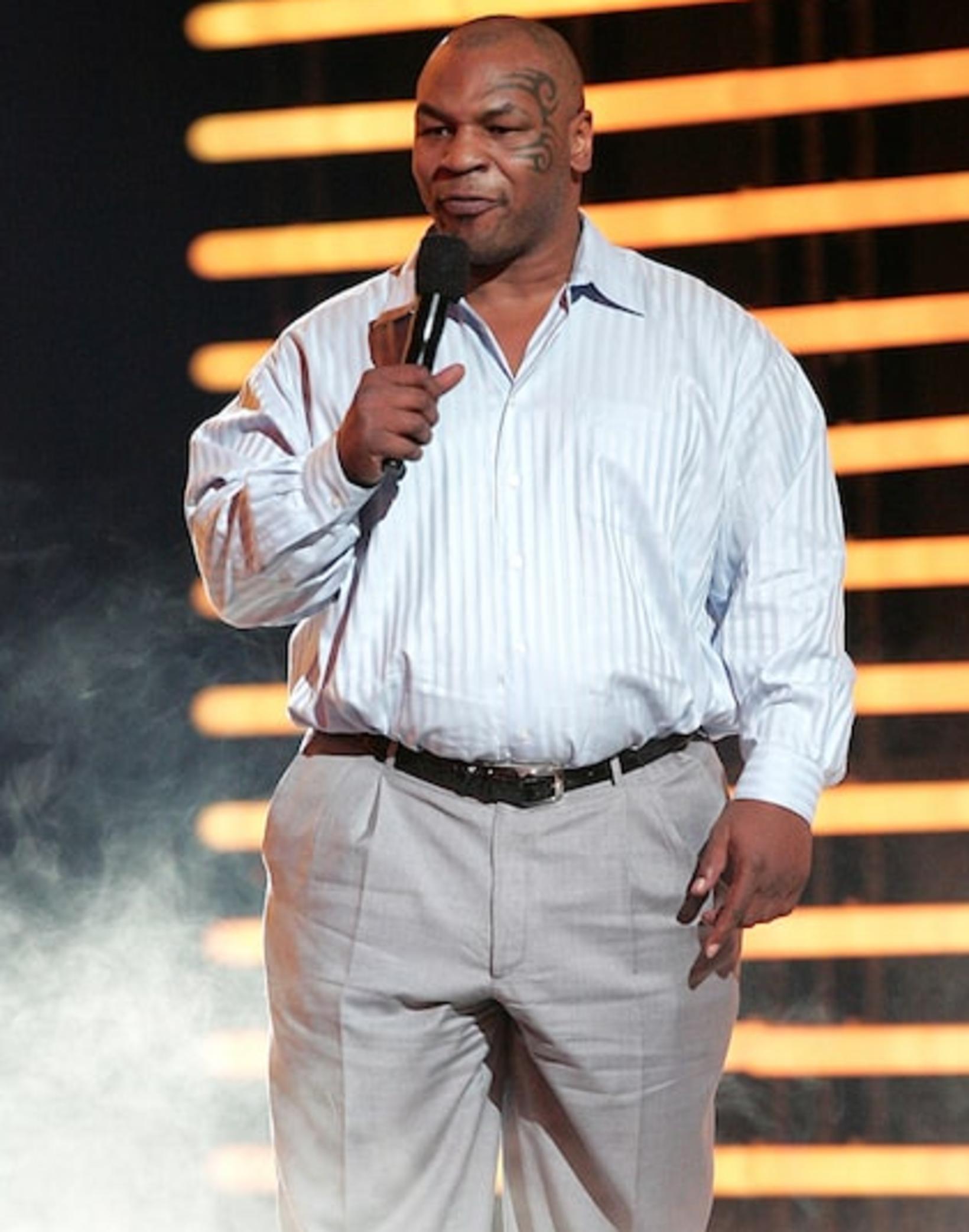Tyson árið 2008.