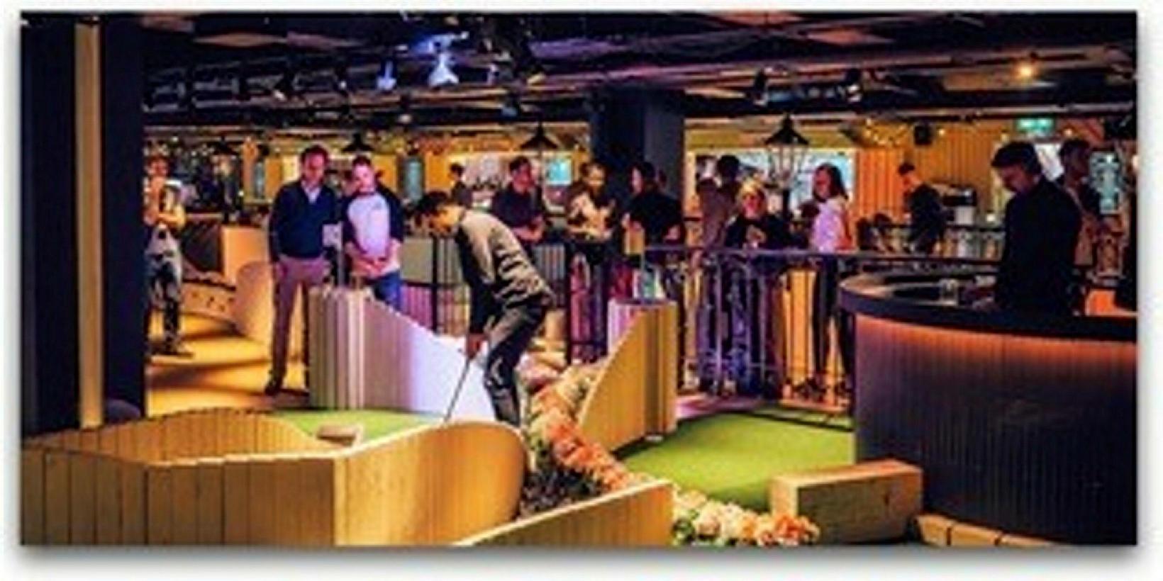 Sigmar fékk innblástur fyrir Minigarðinn frá Swingers: The Crazy Golfclub …