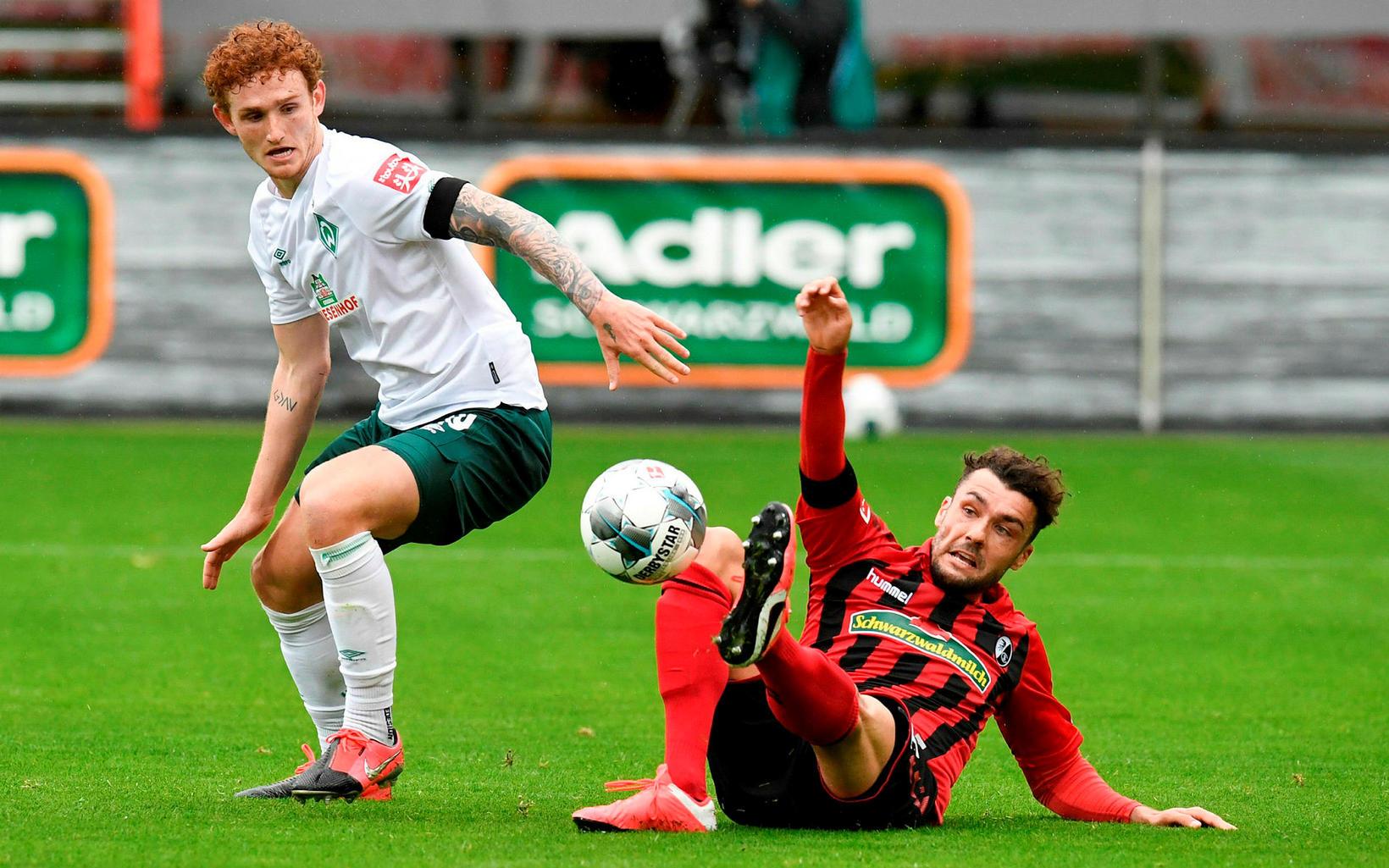 Werder Bremen náði í þrjú mikilvæg stig í botnbaráttunni.