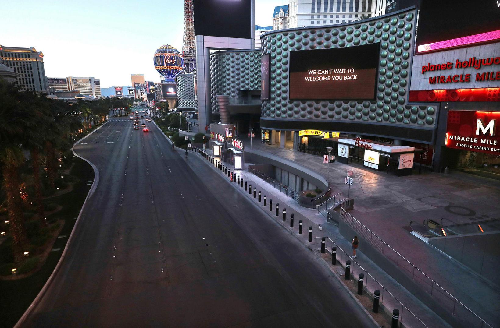 Götur Las Vegas tómar.
