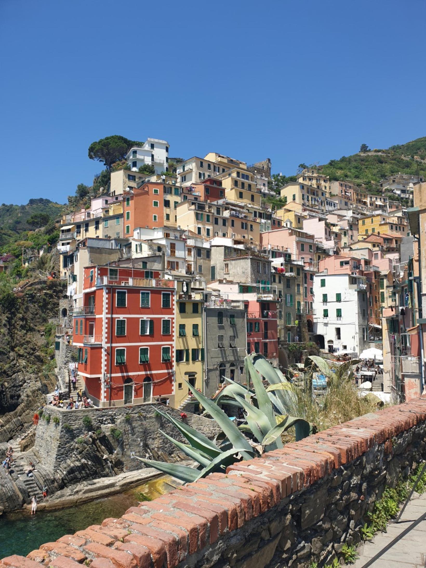 Cinque Terre á Ítalíu.