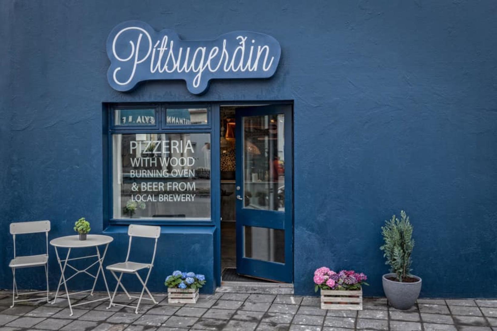 Á Pítsugerðinni má finna heimsklassa pítsur.