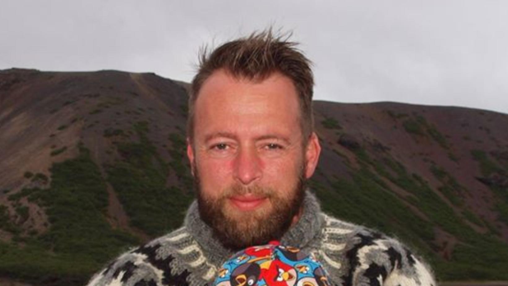 Vigfús Ásbjörnsson, formaður Hrollaugs.