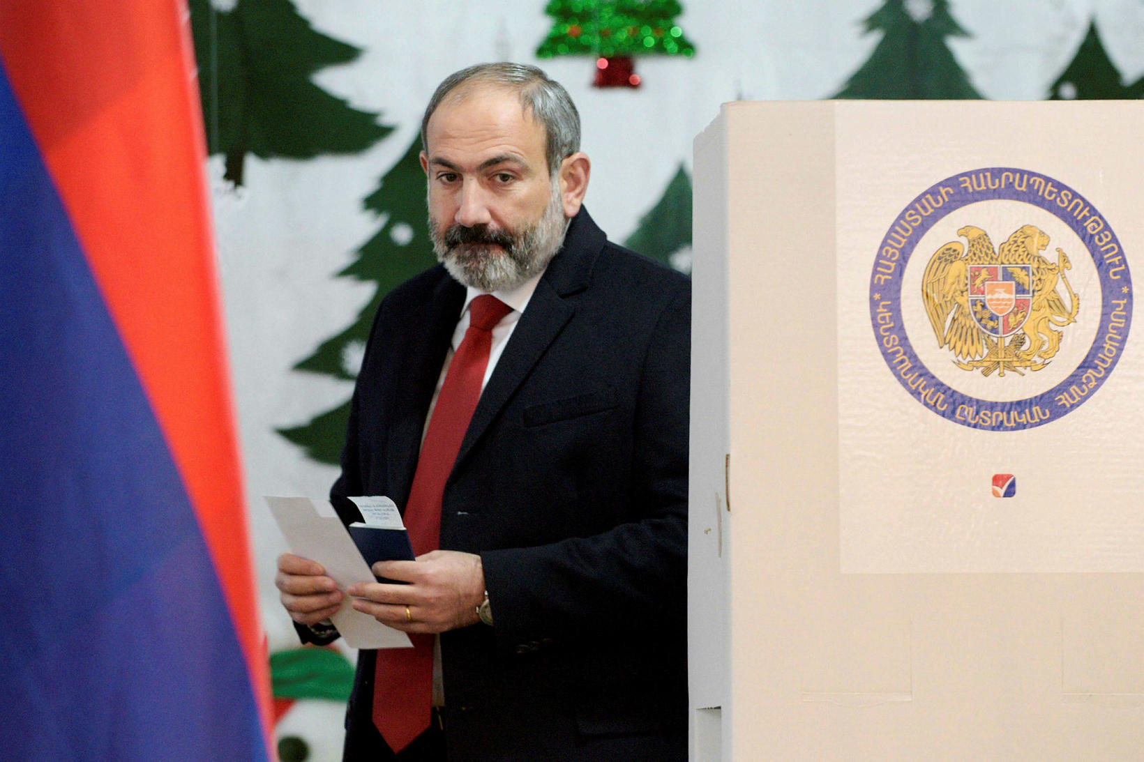 Nikol Pashinyan, forsætisráðherra Armenínu.