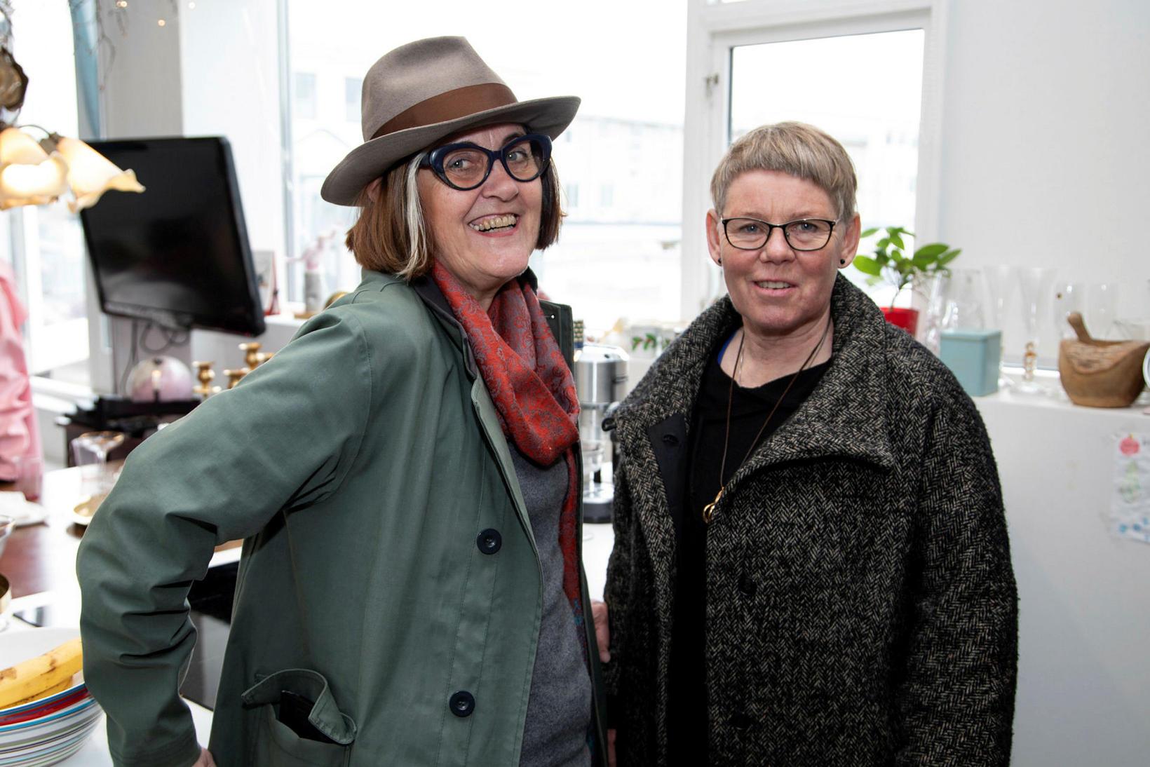 Gerla og Hallgerður Arnórsdóttir.