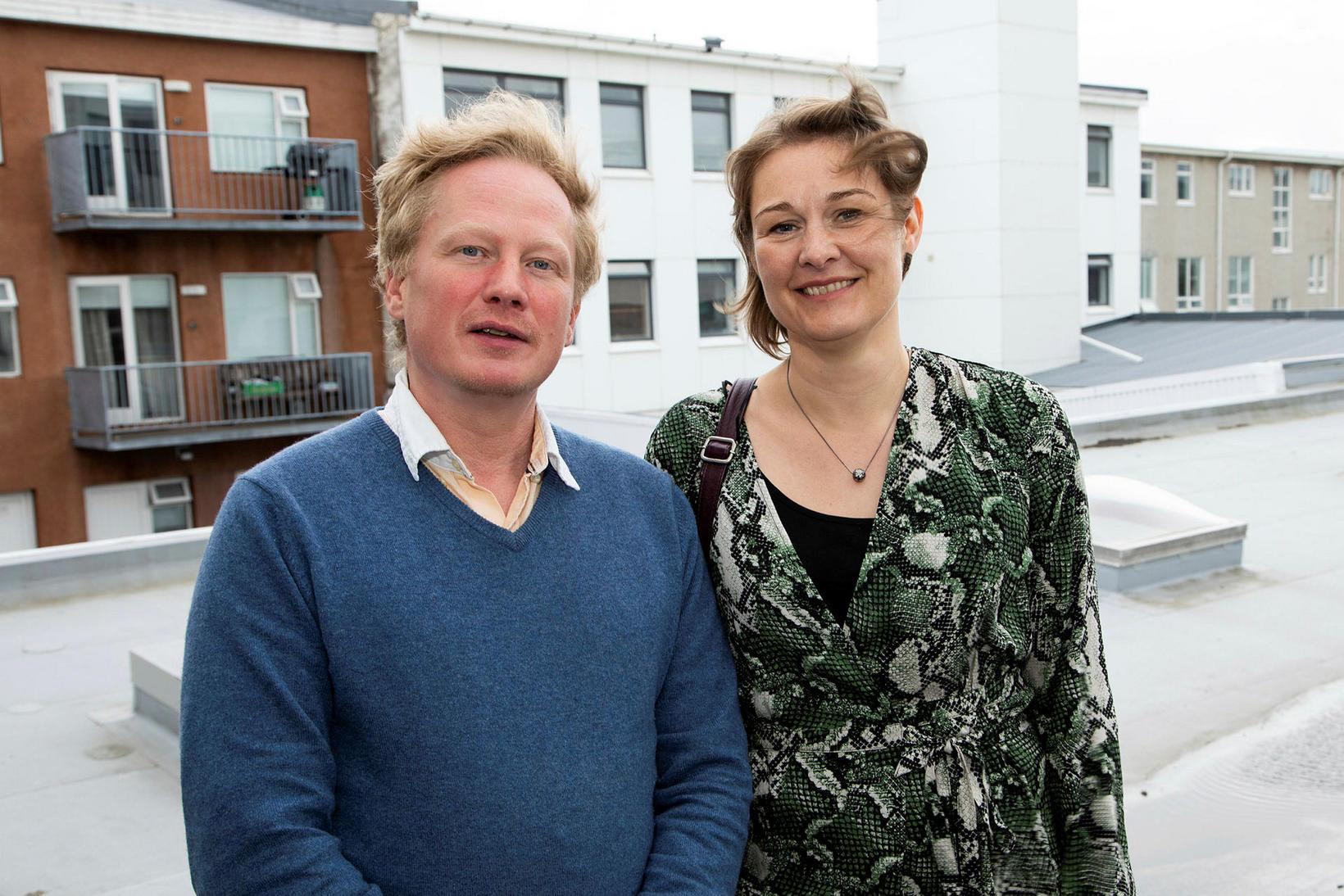 Valur Brynjar Antonsson og Aðalheiður Ólafsdóttir.
