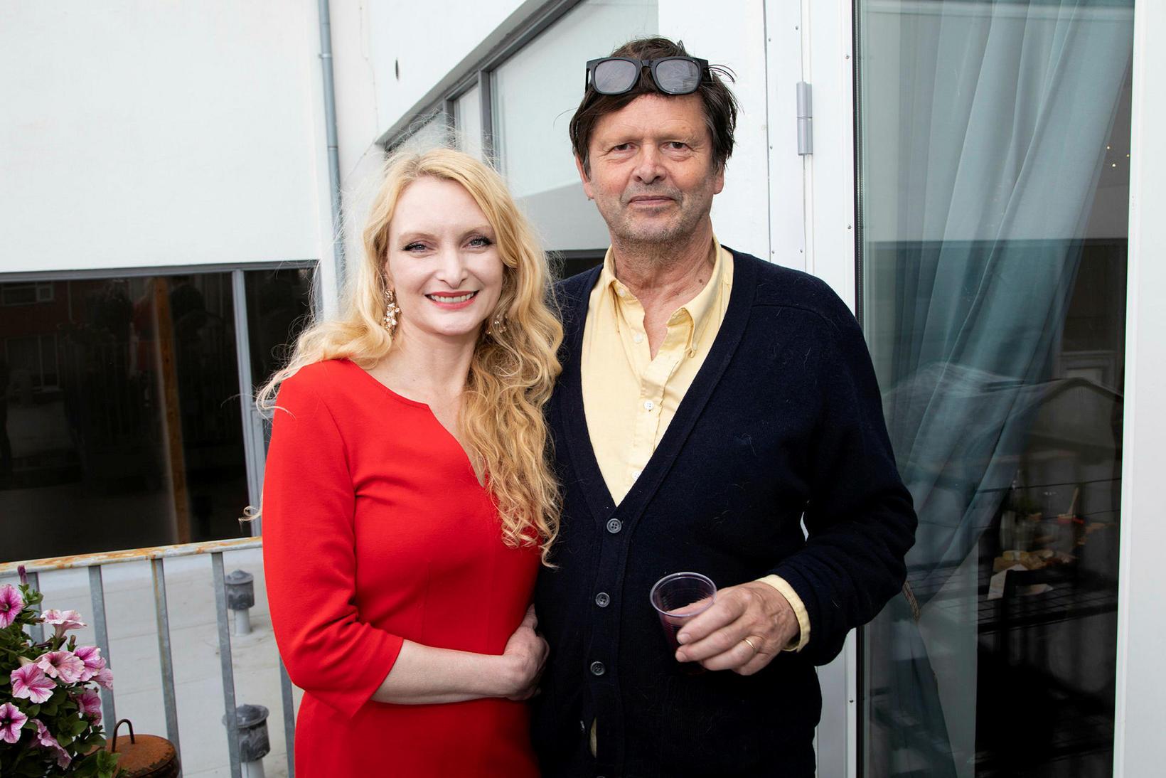 Rakel Halldórsdóttir og Helgi Þorgils.